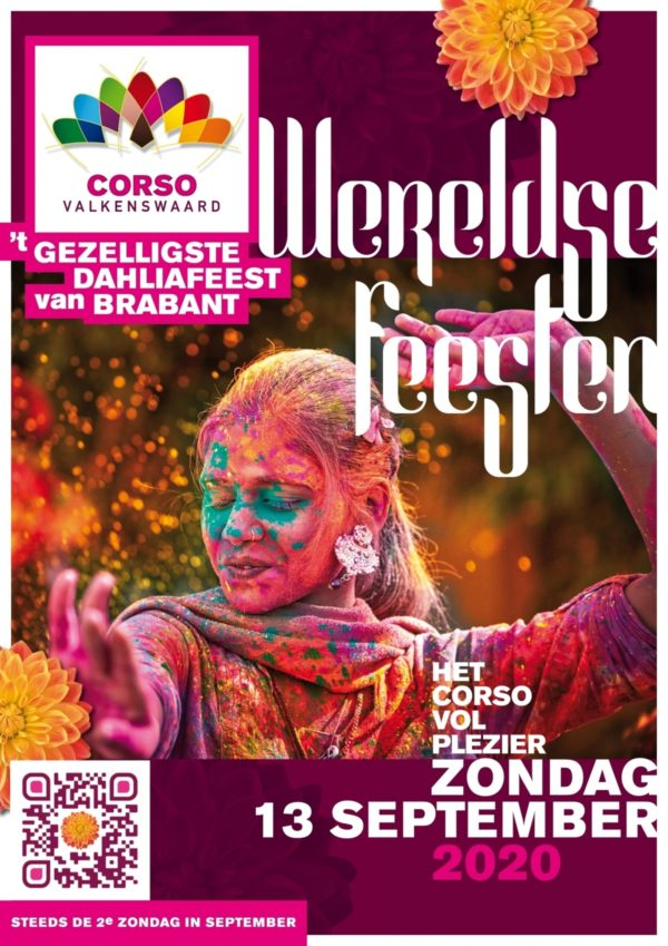 Thema Bloemencorso Valkenswaard 2020 - Wereldse feesten